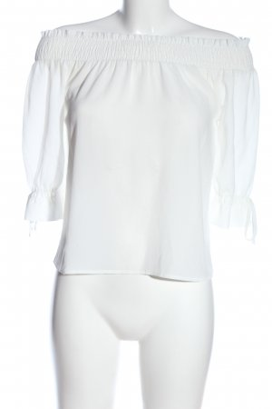 Active USA Blusa tipo Carmen blanco look casual