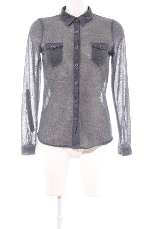 Active USA Shirt Blouse light grey flecked casual look