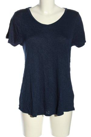 Active USA T-shirt bleu style décontracté