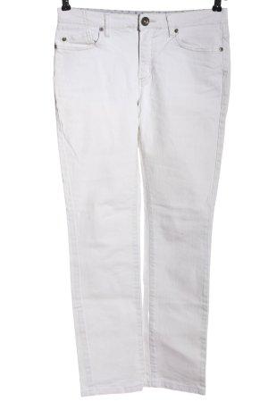 Active wear Jeans met rechte pijpen wit elegant