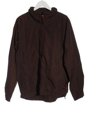 Active wear Overgangsjack bruin casual uitstraling