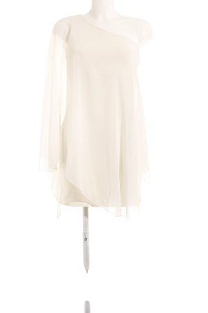 Ad Lib One-Shoulder-Kleid weiß Elegant