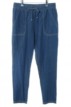 Adagio 7/8 Length Trousers blue casual look