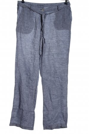 Adagio Luźne spodnie niebieski W stylu casual