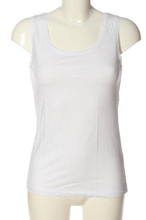 Adagio Top básico blanco look casual
