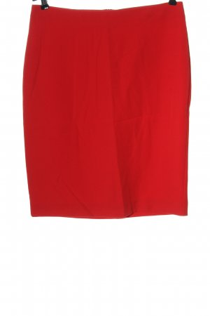 Adagio Pencil Skirt red business style