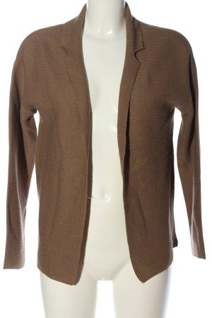 Adagio Cardigan brown cable stitch casual look