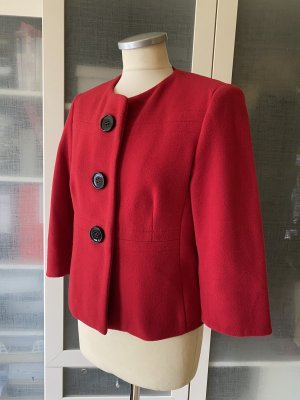 Adagio Wool Blazer dark red