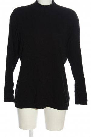 Adagio Cashmere Jumper black casual look