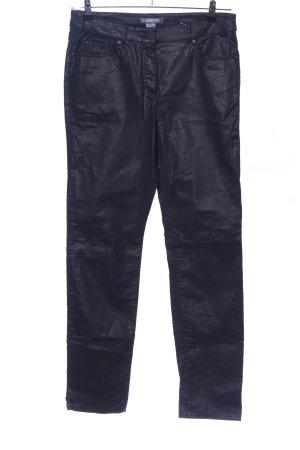 Adagio Five-Pocket-Hose schwarz Casual-Look