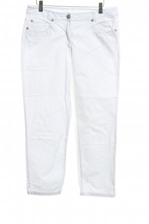 Adagio Five-Pocket-Hose weiß 90ies-Stil