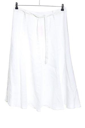 Adagio Jupe évasée blanc style décontracté
