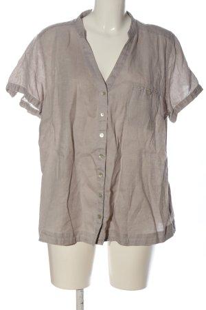 Adagio Blusa-camisa gris claro estilo «business»