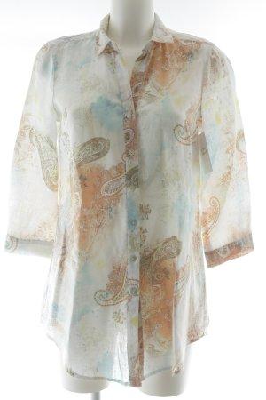 Adagio Shirt Blouse mixed pattern casual look