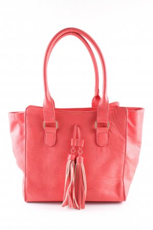 Adagio Bolso barrel rojo look casual