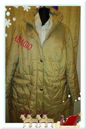 Adagio Short Coat sand brown-gold-colored mixture fibre