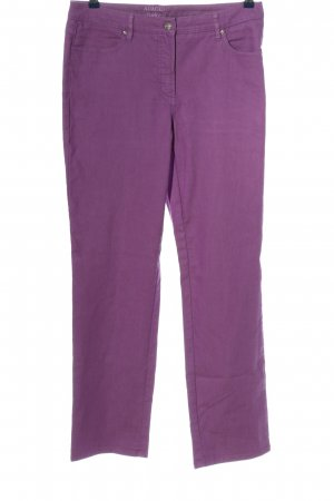 Adagio High-Waist Hose lila Casual-Look