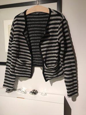 Adagio Short Jacket black-white