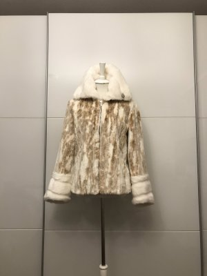 Adagio Fake Fur Jacket multicolored