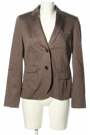 Adagio Blazer corto marrón estilo «business»
