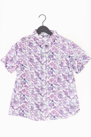 Adagio Blouse met korte mouwen lila-mauve-paars-donkerpaars Katoen