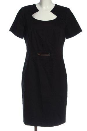 Adagio Robe à manches courtes noir style d'affaires