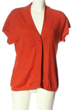 Adagio Sweater met korte mouwen rood casual uitstraling