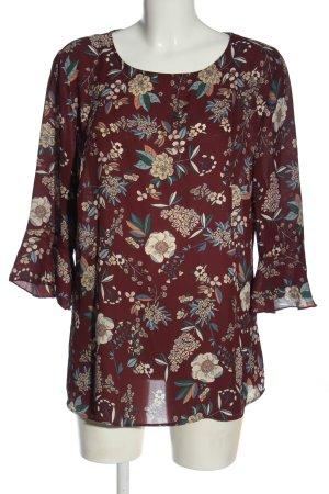 Adagio Long Sleeve Blouse allover print classic style