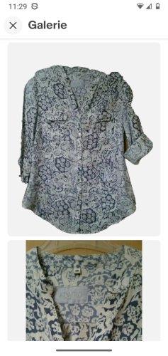 Adagio Shirt Blouse white-blue