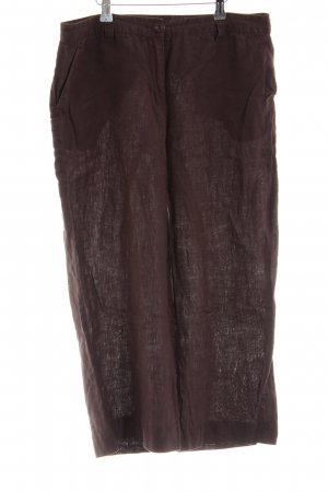Adagio Linen Pants brown casual look