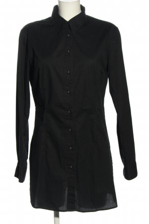 Adagio Blusa larga negro look casual