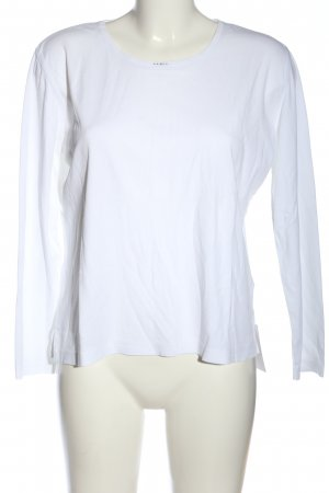 Adagio Top à manches longues blanc style décontracté