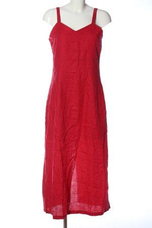 Adagio Vestido largo rojo look casual