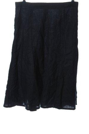 Adagio Falda midi negro look casual