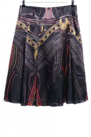 Adagio Midi Skirt mixed pattern elegant