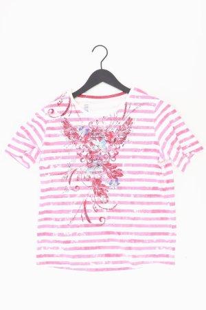 Adagio Shirt met print lichtroze-roze-roze-neonroos Katoen