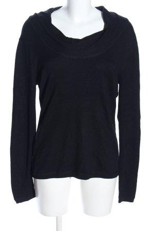 Adagio Crewneck Sweater black casual look