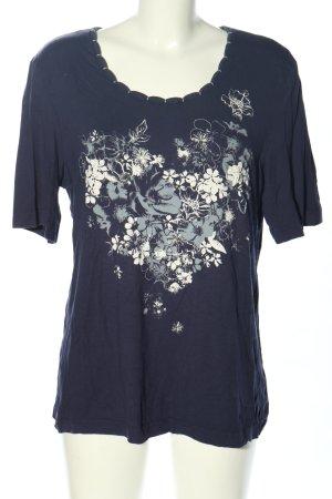 Adagio Camisa azul-blanco look casual