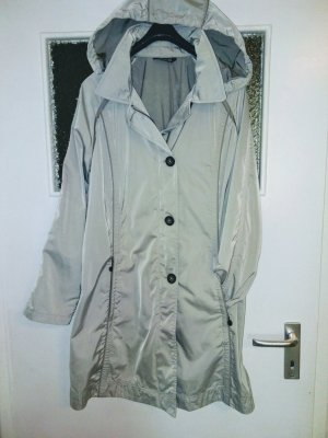 Adagio Trench Coat silver-colored-light grey mixture fibre