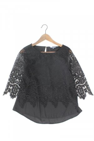 Adagio Lace Blouse black polyester