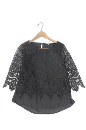 Adagio Kanten blouse zwart Polyester