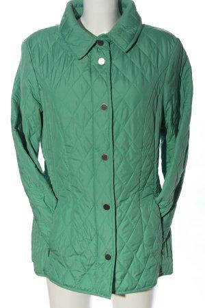 Adagio Veste matelassée vert motif de courtepointe style décontracté