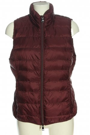Adagio Quilted Gilet brown quilting pattern casual look