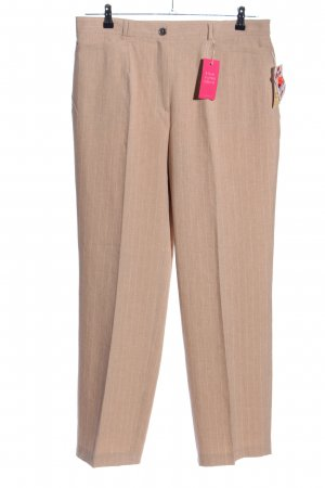 Adagio Jersey Pants natural white striped pattern casual look