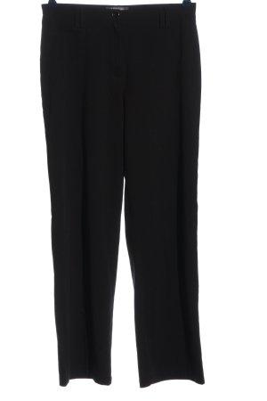 Adagio Pantalon en jersey noir style d'affaires