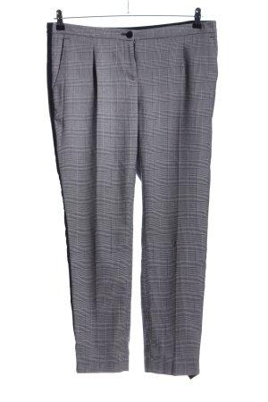 Adagio Jersey Pants light grey allover print business style