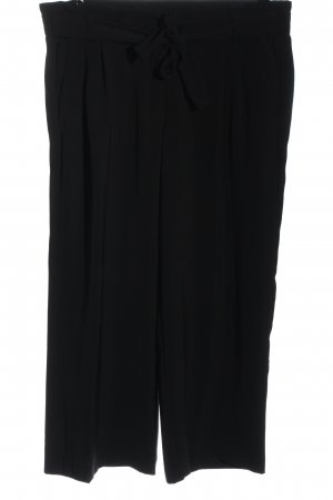 Adagio Stoffen broek zwart casual uitstraling