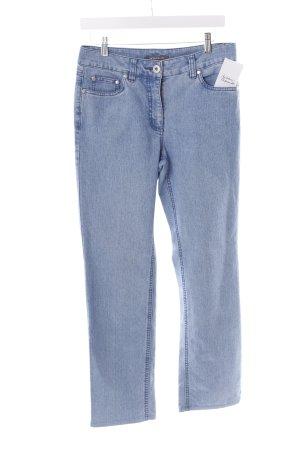 Adagio Jeans coupe-droite bleu acier style décontracté