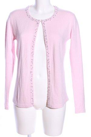 Adagio Cardigan tricotés rose style décontracté