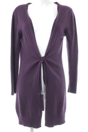 Adagio Knitted Cardigan lilac casual look